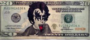 payable in Kiss Bucks, of course