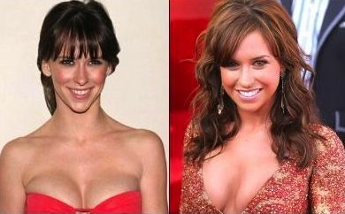 now imagine Jennifer Love Hewitt and grown-up Lacey Chabert are Ralph and Jack…and they get into a cat fight..and…sorry, got a little distracted there.