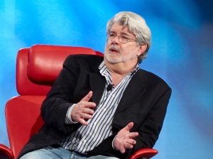 ...really best not to imagine George Lucas actually being in my mouth...